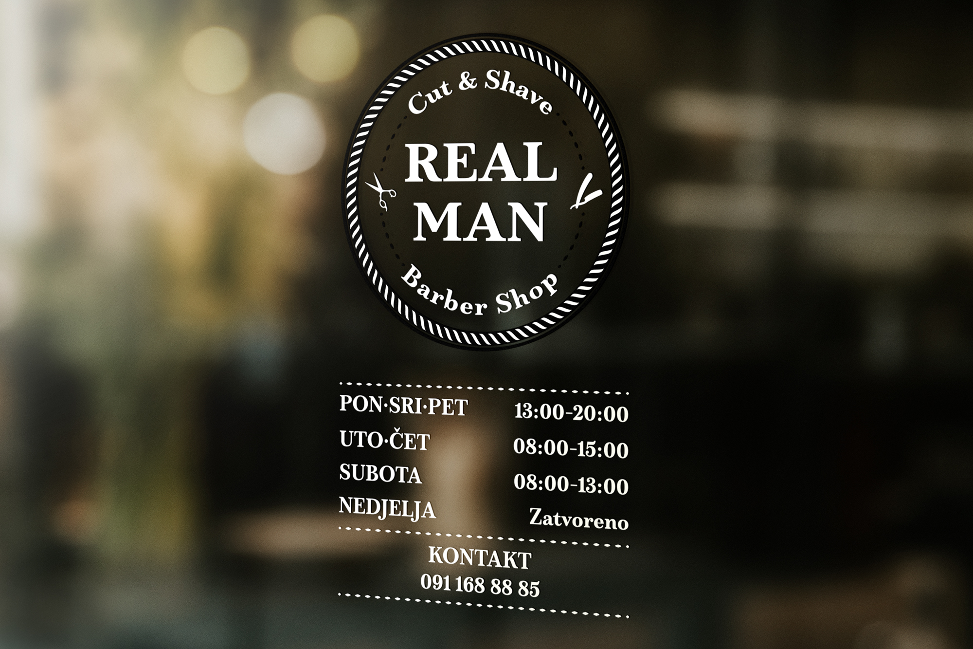 REAL MAN BARBER SHOP